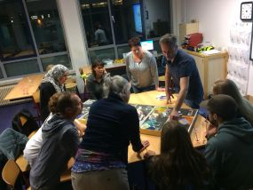 Enthousiaste ouders op thema-avond